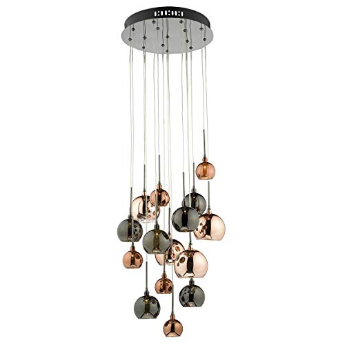 Dar Aurelia 15 Light Pendant AUR1564