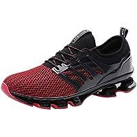 Zapatillas de Running para Hombre ZARLLE Zapatos de Gimnasia para Caminar de Peso Ligero Zapatos Deportivos para Hombre