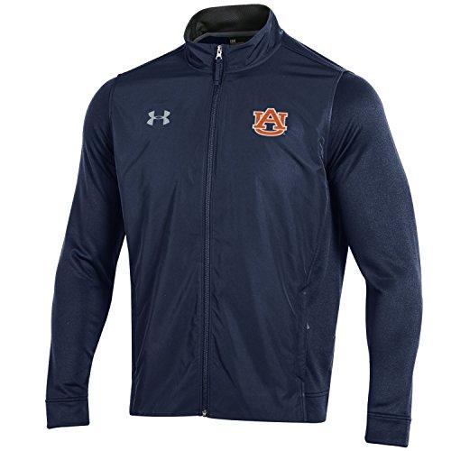 Under Armour NCAA Herren Tech Terry Full Zip Jacke, Herren, Tech Terry Full-Zip Jacket, Navy, Medium Terry Zip Jacket