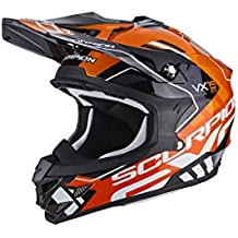 Scorpion Casco moto VX-15 EVO AIR ARGO Nero-Arancia XL