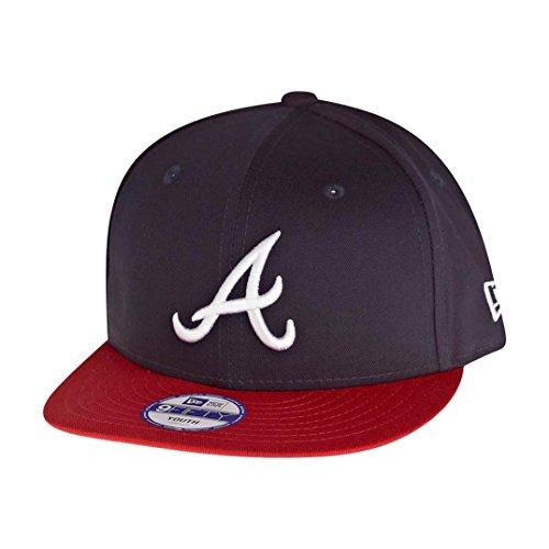 Boys New Era 9Fifty Atlanta Brave Snapback Cap In Navy