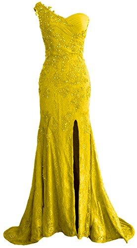 MACloth - Robe - Moulante - Sans Manche - Femme citronier
