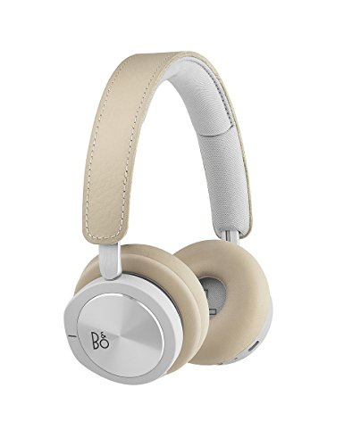 Bang & Olufsen Beoplay H8i Wireless On-Ear Active Noise Cancelling Kopfhörer, natural
