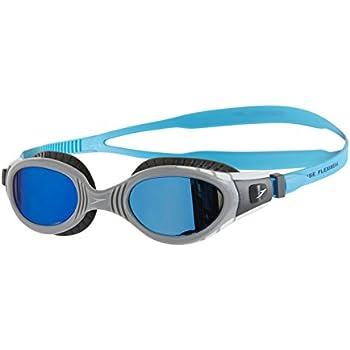 a9320578f Speedo Futura Biofuse Flexiseal Mirror Gafas de Natación, Unisex Adulto,  carbón USA/Gris/Azul Espejo, Talla Única