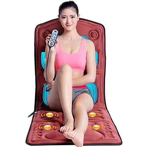 YUXINCAI Elektrisches Massagekissen - Nacken Schulter Rücken Multifunktions-Haushaltsmassagekissen Körpermassagedecke,Gold