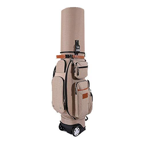 Yishelle Golf-Tragebags, Wasserdichte Golf Carry Bag Multi-Funktions-Golf Bag Erwachsene Golf Zubehör Golf Stand Bag mit Schlepper, Regenschutz, Diebstahlsicherung Code Lock