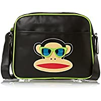 Paul Frank Sunglasses Messenger Bag - Black by Paul Frank