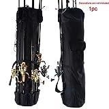 Sweet48 Angelzubehör-Tasche, Angelruten-Koffer, tragbar, hohe Kapazität,...