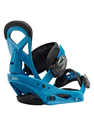 Burton Jungen Mission Smalls Snowboardbindung, Blue Boy, S