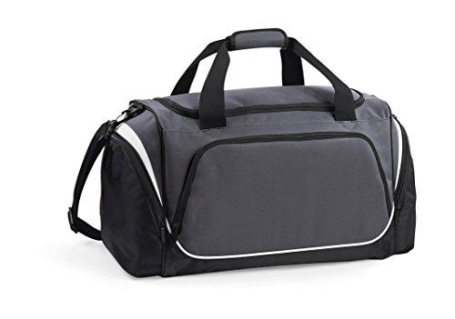 Quadra–Borsone sportivo 55L–qs270–Pro Team Holdall–Colori blu royal/nero/bianco Graphite Grey De Suministro Para La Venta 62k0KY