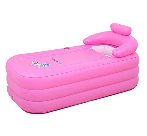 LYM & bañera Plegable Bañera Bañera Hinchable para Adultos - Piscina Inflable para niños Piscina...
