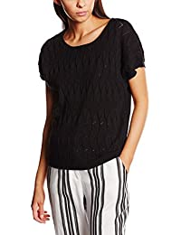 Pepa Loves, SWEATER POINTELLE BLACK - JERSEY para mujer