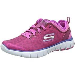 Skechers - Flex Power Player, Scarpe da trekking donna, color Rosa (Rose Foncé), talla 37