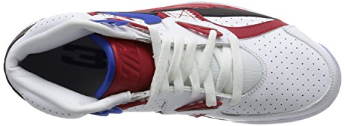 Nike Air Trainer Sc High Le Qs, Chaussures de Running Entrainement Homme Multicolore - Blanco / Azul / Rojo / Negro (White / Game Royal-Gym Red-Black)