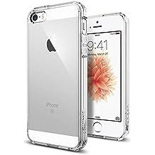 Spigen SGP10640 - Funda para iPhone SE / 5 / 5S, Claro