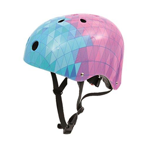 Soy Luna 70032411, casco di protezione da skateboard, con motivo Disney, colore blu e rosa