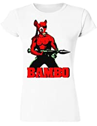 Young And Strong Deer Bambo Women's T-Shirt