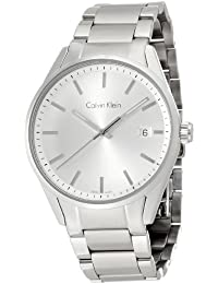 Calvin Klein Herren-Armbanduhr Analog Quarz Edelstahl K4M21146
