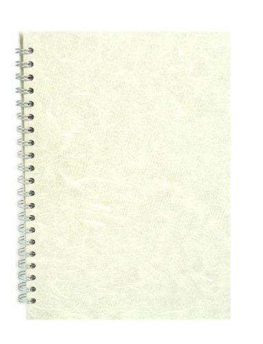 Elfenbein Flaches Blatt (Pink Pig A4Hochformat | Einband weiß Kartusche, 35Blätter | Ivory Elfenbein)