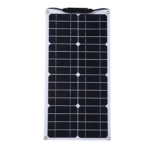 Especificación: Tipo: Panel solar Potencia: 20W Voltaje de funcionamiento: 18V Temperatura de trabajo: -40 ℃ - 85 ℃ Resistencia al viento: 50psf (2400 pascales) Resistencia a la nieve: 113psf (5400 pascales) Ipmax: 1.2A Vpmax: 18V ISC: 1.3A Voc: 18V ...