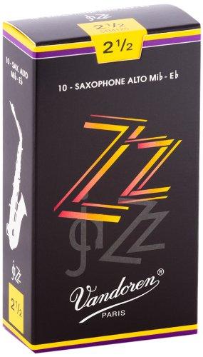 Vandoren SR4125 ZZ Alt Saxophon Blätter - 10 Einheiten