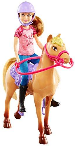 Barbie - Camping Fun muñeca y Caballo (Mattel DYX18)