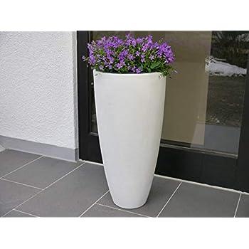 Moderne & Hochwertige Pflanzvase / Pflanzkübel – Medium: 100cm ...
