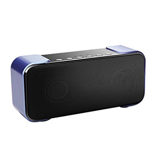 THINKMIC Bluetooth Bass-Lautsprecher, Outdoor-Portable, Computer Auto, doppelte Minilautsprecher, Support Voice-Tipps, Karte, Radio, Anruf-Funktion
