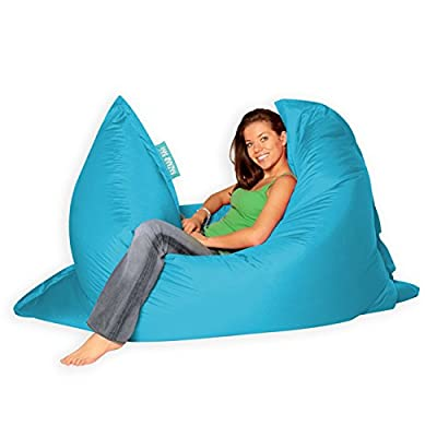BAZAAR BAG® - Giant BeanBag, 180cm x 140cm - Indoor Outdoor Garden Floor Cushion Bean Bags