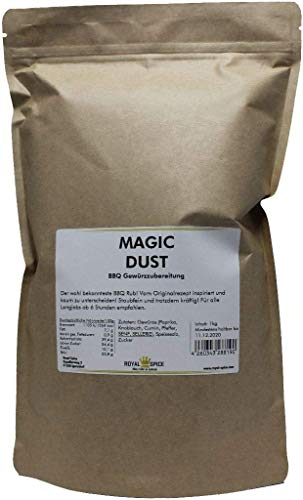 Magic Dust, BBQ-Rub 1 Kg BigPack