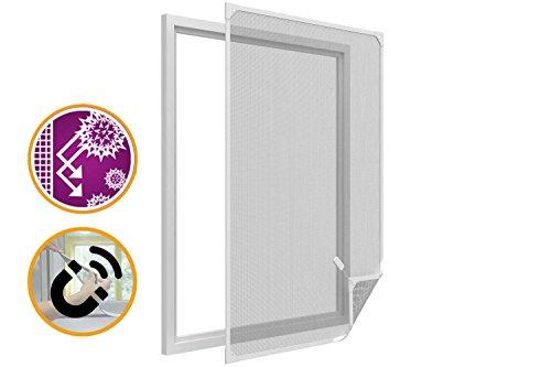 Zanzariera quadro fisso rimovibile finestra magnetique anti-pollen in pvc bianco regolabile in altezza come in larghezza a rete in fibra di vetro anti insect anti mosche