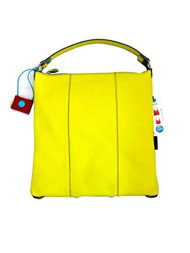 GABS donna borsa a mano SOFIA-E17 DODO SACCA TRASF. DOLLARO DAV/DT 1201 L giallo