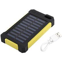 maistore 30000 mAh Universal-Solar-Ladegerät Solar Power Bank Dual USB Port Wasserdicht Staubdicht Lange Outdoor Solar Panel Ladegerät mit LED-Notfall-Licht für Smartphone