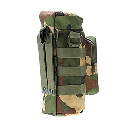HKFV Multifunktions-Wasserkocherbeutel / Kesselbeutel Outdoor Reise Wandern Klettern Tasche mit Tasche Wasser Flasche Tasche C