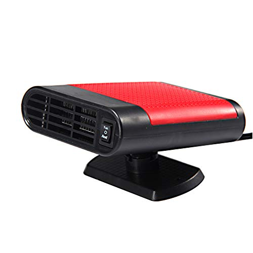 Carrfan Riscaldatore Portatile 12V 150W Raffreddamento Elettrico Riscaldamento 2 in 1 Ventola del Parabrezza Demister Che Guida Lo sbrinatore