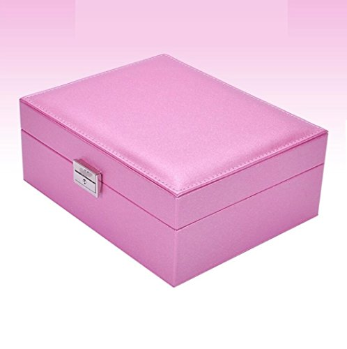 GY&H Dekorative Schmuckschatullen Ringe Ohrringe Display Box Aufbewahrungsbox, Kosmetikbox Geschenkbox High-End Schmuck Box Veranstalter,A (Stimmung Ring Und Halskette)