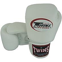 8–10–12–14–16oz weiß Twins Special Muay Thai bgvl-gants Boxhandschuhe Leder Professionelle (3Stück)