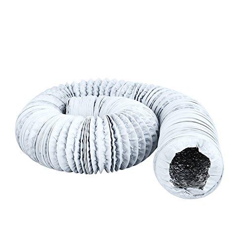 Hon&Guan Tubo de Manguera de Ventilación Tubo Aire Flexible di Aluminio &...