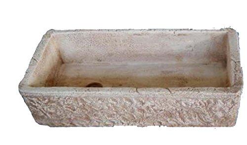 Vasca Da Lavare In Cemento : Lavello lavabo in cemento da giardino lavello rustico misura