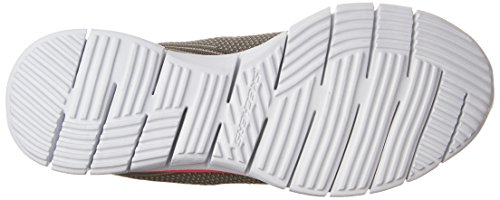 Skechers Glider-Forever Young, Baskets Basses Femme Gray/Coral