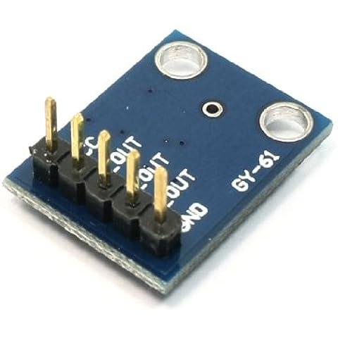 3-Axis ADXL335 analógico de salida angulada transductor para Módulo de acelerómetro uniaxial 3-5V