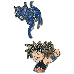 Blue Dragon Shu & Blue Dragón Pin Metalico