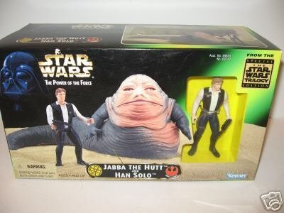 Star Wars The Power of the Force Jabba the Hut and, used for sale  Delivered anywhere in UK