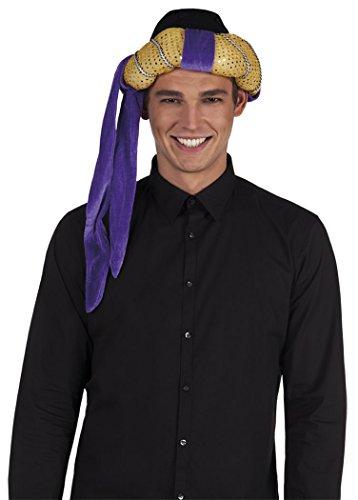 Turban Sultan oder arabischer Prinz (Arabischer Prinz Kostüm Für Erwachsene)