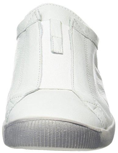 Softinos Damen Ilo379sof Sneaker Weiß