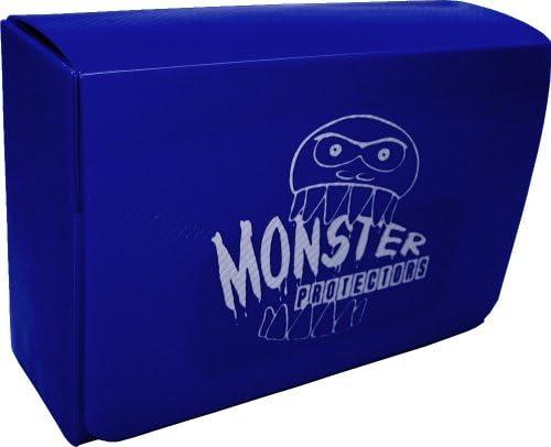 Monster Protectors Yu Gi Oh MTG Magic Double Deck Box, Magnetic Lock - BLUE | Vendant Bien Partout Dans Le Monde