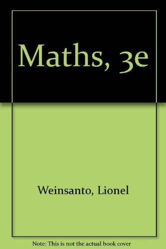 B.COLL. MATHS 3E (Ancienne Edition)