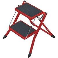 Hailo 4310-601 - Escabel plegable, color rojo
