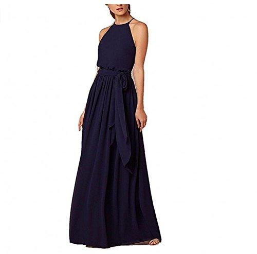 KA Beauty - Robe - Femme Bleu Marine