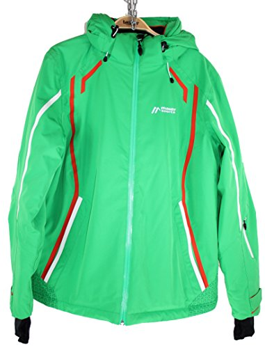 Maier Sports Damen Maghera Skijacke Grün Grösse 38